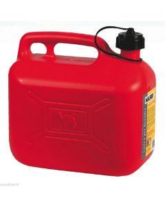 Maurer tanica per carburante con beccuccio omologata con beccuccio in plastica
