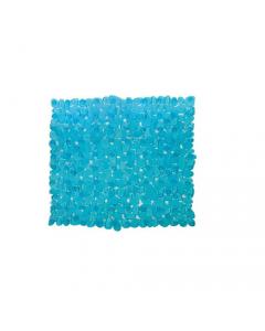 Maurer tappeto per doccia con ventose antiscivolo antimuffa in pvc azzurro