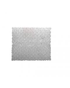 Maurer tappeto per doccia con ventose antiscivolo antimuffa in pvc trasparente