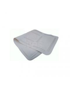 Maurer tappeto per doccia in pvc antiscivolo antimuffa cm 55 x 55 colore bianco