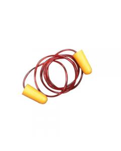 Maurer tappi auricolari per le orecchie con cordino monouso anatomici in gomma piuma di poliuretano