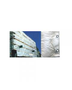 Maurer telone antipolvere per edilizia metri 1,8 x 25 colore bianco. Telone in polietilene con occhielli in alluminio. Stabilizzato ai raggi UV. Con cordino di rinforzo sui 2 lati. 85 grammi / metro quadro