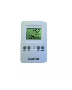 Maurer termometro digitale con igrometro e display cristalli liquidi LCD