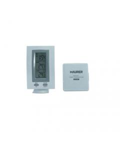Maurer termometro digitale con sensore esterno senza fili
