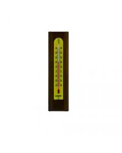 Maurer termometro su legno di noce per interni mm 200 x 54