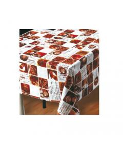 Maurer tovagliato felpato per ristorazione bar locali pubblici cucina tavola modello Caffè h cm 140 x lunghezza rotolo 20 metri