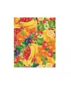 Maurer tovagliato felpato per ristorazione bar locali pubblici cucina tavola modello Frutta h cm 140 x lunghezza rotolo 20 metri