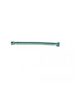 Maurer tubo flessibile a treccia in acciaio inox per rubinetti miscelatori blister 2 pezzi
