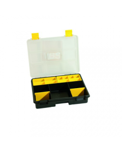 Maurer valigetta in plastica porta minuterie con separatori. Dimensioni cm 28,5 x 23,5 x 65. 6 pezzi.