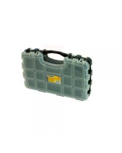 Maurer valigetta multiuso porta minuterie con doppia apertura. In polipropilene. Con separatori. Dimensioni cm 32 x 22 x 70.