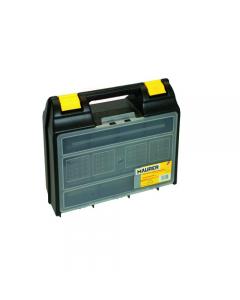 Maurer valigetta porta utensili e attrezzi in polipropilene con coperchio con vaschette portaminuterie