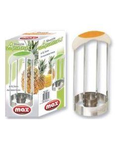Max taglia affetta ananas in acciaio