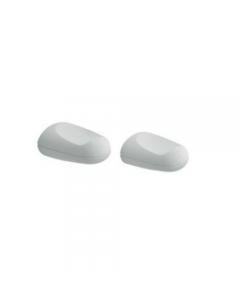 Metaform Evy appendiabiti in abs colore bianco cm 6,5 x 8,5 x h 4,5