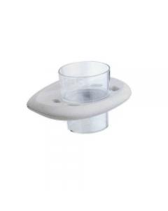 Metaform Evy portabicchiere supporto e bicchiere in abs colore bianco cm 16 x 10 x h 9,5