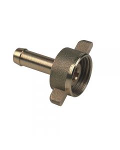 Metal Pi portagomma 2 pezzi per tubo irrorazione in ottone