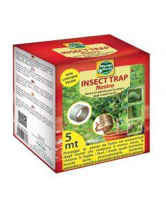 Nastro adesivo acchiappa insetti nocivi per piante ornamentali e da frutto