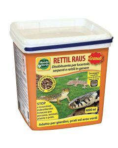 Mondo Verde rettil Raus granuli 4000 ml disabituante per rettili (serpenti, lucertole, gechi...)