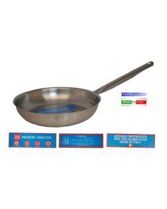 Montini Catering padella svasata con 1 manico diametro cm 22 cm 24 cm 26 cm 28 cm 30 cm 32