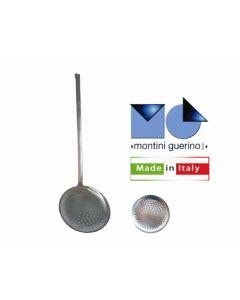 Montini schiumarola con manico in acciaio inox 18/10 diametro cm 11 e cm 20