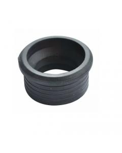 Morsetto per curva tecnica in gomma morbida nera per il collegamento di utenze ad impianti di scarico mm 50 x 40 - 25 pezzi