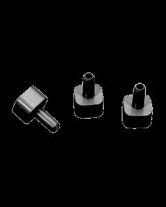 Novital testata per tubo quadro per collegamento a tubi flessibili