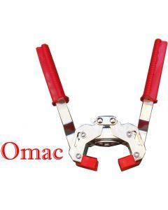 Omac Eterna tappatrice per tappi corona a due leve con estrattore automatico per sgancio bottiglia