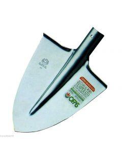 Orsatti vanga a punta numero 1 in acciaio cm 29,5 x 26 peso 1,1 kg