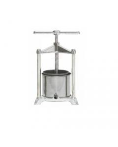 Palumbo cucina torchietto per alimenti premitutto in alluminio pressofuso con raccoglitore in acciaio inox