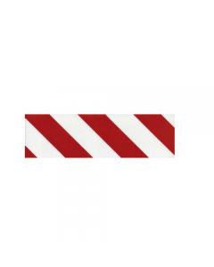 Pannello adesivo antiurto per cantiere e garage colore bianco rosso