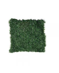 Papillon arella sintetica aghi di abete. Schermatura totale composta da foglie di aghi di abete in tessuto plastificato, colore verde scuro, sostenute da una rete metallica a maglia quadra. Dimensioni m 1 x 3, m 1,5 x 3, m 2 x 3. EAN 8000071931342