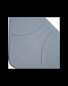 Papillon cemento triangolare per base per ombrellone mm 47,5 x 47,5 x h 5,5 peso kg 25
