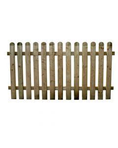 Papillon Ela separè recinto recinzione a lamelle in legno per giardino e terrazzo