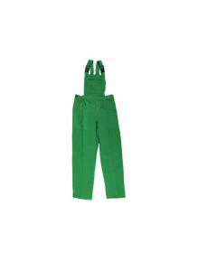 Papillon Garden abbigliamento da lavoro per edilizia cantiere giardinaggio pettorina colore verde 100% cotone