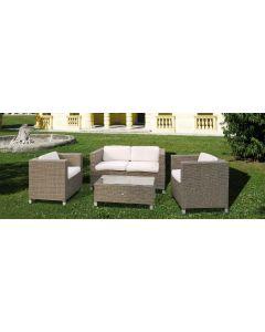 Papillon Maratea set da giardino esterno piscina tavolino divano 2 poltroncine. EAN 8000071943628, 8000071553827, 8000071939102