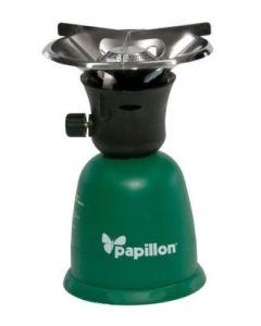 Papillon Scout1 fornello da campeggio a cartuccia accensione manuale e piezoelettrica