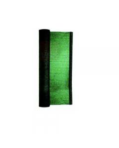 Papillon telo ombreggiante colore verde scuro protezione al 90% con asole alle cimose