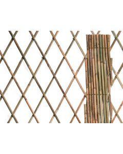 Papillon traliccio estensibile per rampicanti in bamboo naturale per giardino e terrazzo EAN 8029971051318 8004944048342