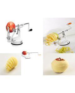 pela mela sbuccia patate taglia frutta sbucciatore pulisci affetta mela pelamela togli torsolo