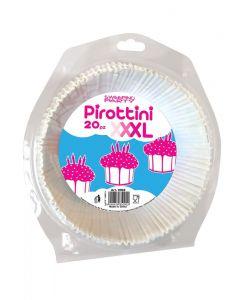 Pirottine per dolci e muffin in carta diametro cm 29 confezione 20 pezzi