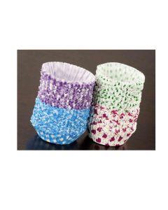 Pirottine per muffin dolci dimensioni cm 7,5 x h cm 2,5 confezione 40 pezzi