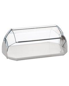 Vetrina vetrinetta porta dolci brioche cornetti pane per bar pasticceria cm 23 x 19 x h 13 di Cosmoplast