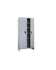 Pro Metal armadio tuttipiani tipo alto in lamierato d'acciaio verniciato grigio