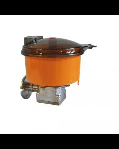 Reber impastatrice n. 5 per motoriduttore 500 600 1200 watt. Contenitore e coperchio in policarbonato. Adatta per tutti i tipi di impasti: pasta, pane, pizza, dolci. Peso 1,6 kg.