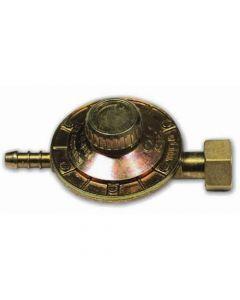 Regolatore bassa pressione per bombole con attacco orizzontale dado 25 x 14 sinistro