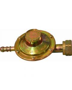 Regolatore bassa pressione per stufa catalitica taratura fissa 30 MBAR portata 1,1 kg/h dado25 x 14 sinistro