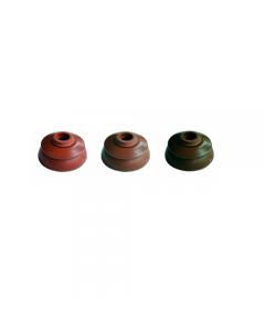 Rondella ad ombrello per coppi con guarnizione di tenuta in EPDM colore rosso siena rosso tegola testa di moro