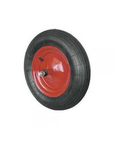 Ruota pneumatica per carriola nucleo in acciaio con cuscinetto