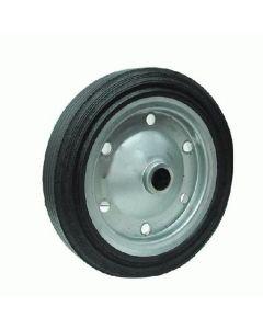 ruota ruote per betoniera gomma piena diametro 350 mm con foro di diametro 35  43 mm
