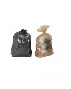 Sacchi per nettezza urbana tipo pesante. Quantità: 20 kg di sacchi colore nero o ambra.