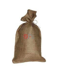 25 sacchi in juta cm 59 x 100 colore sabbia